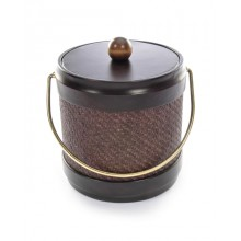 Wicker Truffle 3 Quart Ice Bucket