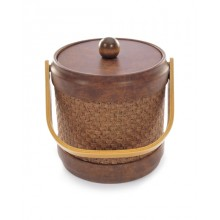 Wicker Acorn 3 Quart Ice Bucket
