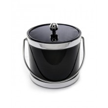 Accent Black 3 Quart Ice Bucket