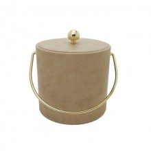 Buck Calf Leatherette 3 Qt. Ice Bucket