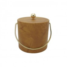 Honey Leatherette 3 Qt. Ice Bucket